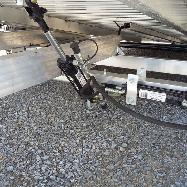 2021 Aluma 82'' x 18' Aluminum Tilt Flatbed Trailer