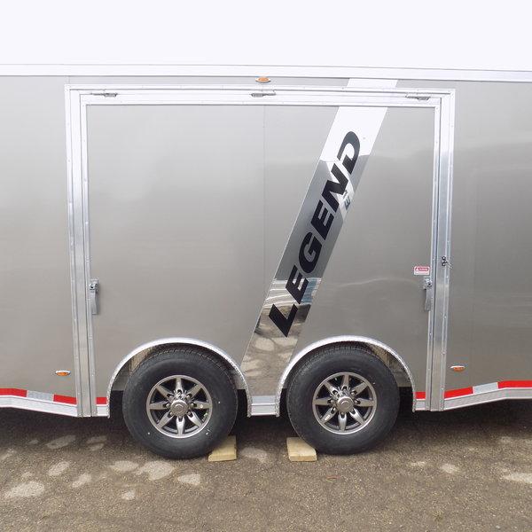 New Legend Aluminum 8.5' x 28' Race Series Trailer