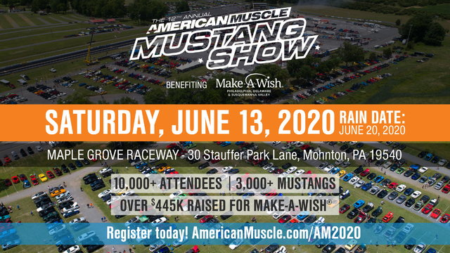 6/13/20 - AmericanMuscle 12th Annual Mustang Show
