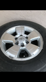 Toyota Tacoma TRD sport wheels