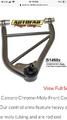 82-92 Camaro/Firebird Autofab Tubular control Arms (P/C Blac