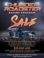 Complete Thunder Roadster Program - (3) Cars + Parts