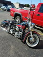 Harley Duo Glide in excellent condition.