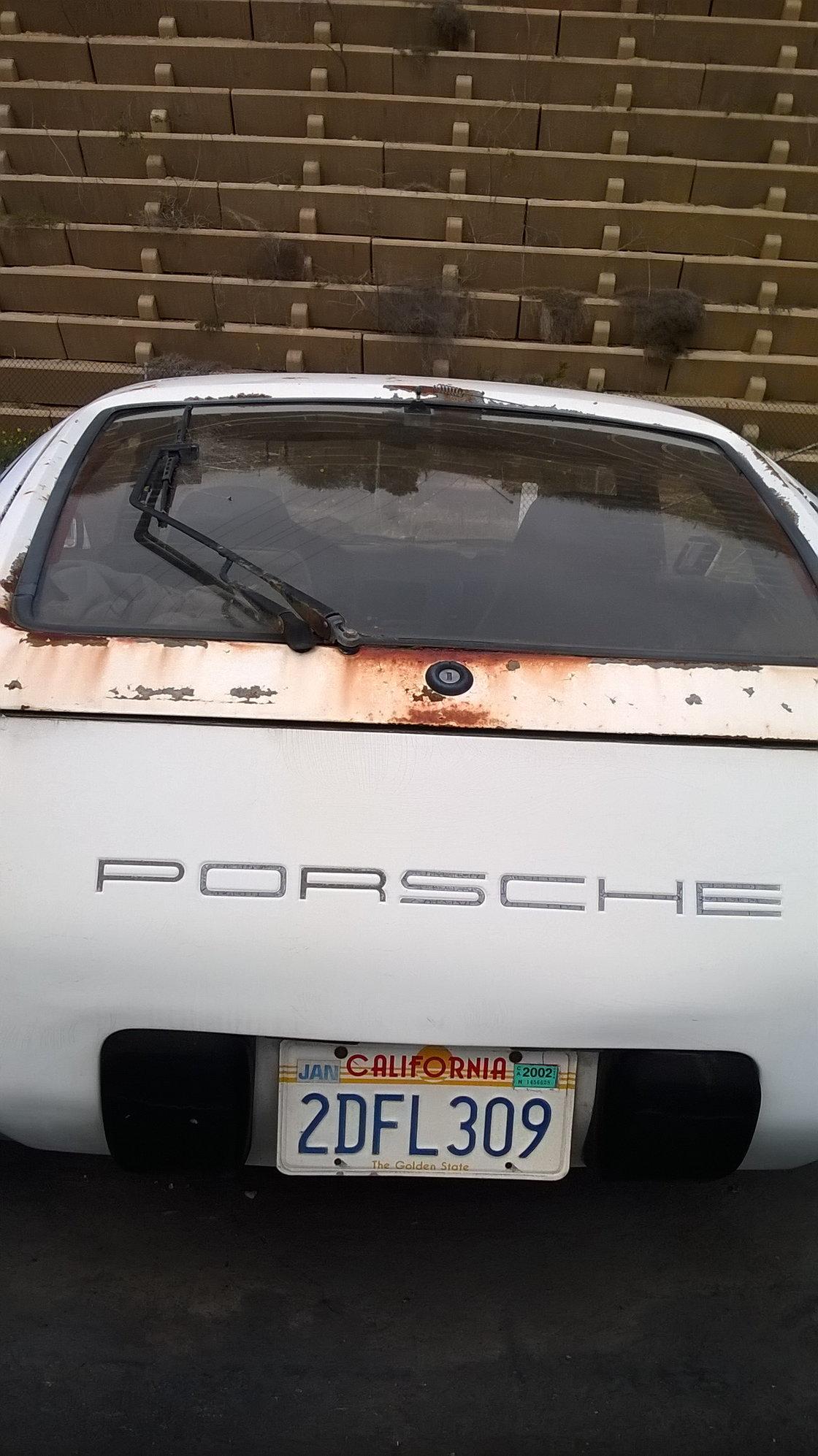Craigslist: San Diego - Parts Car x2 - Rennlist - Porsche ...