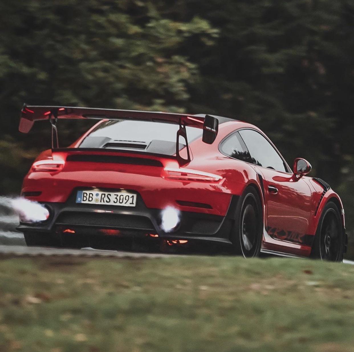 Manthey GT2 RS At Hockenheim