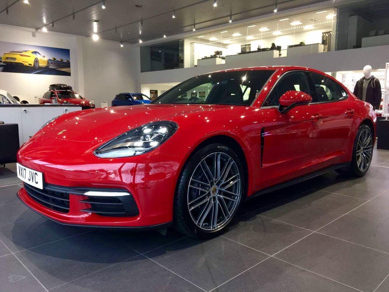 Carmine Red Panamera 4 Collected Rennlist Porsche