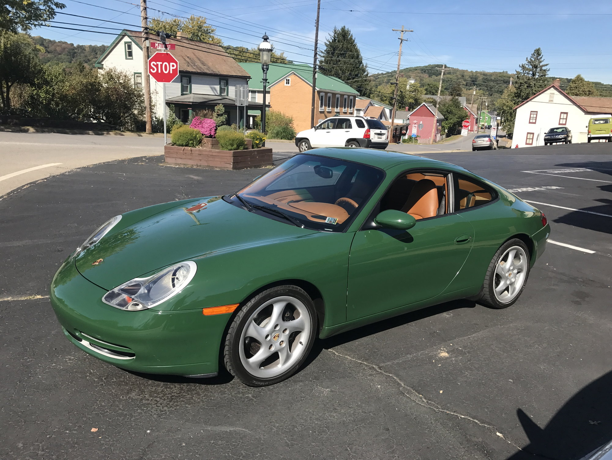 How About A PTS (Paint To Sample) Green 996 With Natural Leather Interior?  I Know I Shouldnu0027t, But I Canu0027t Help But Like It!