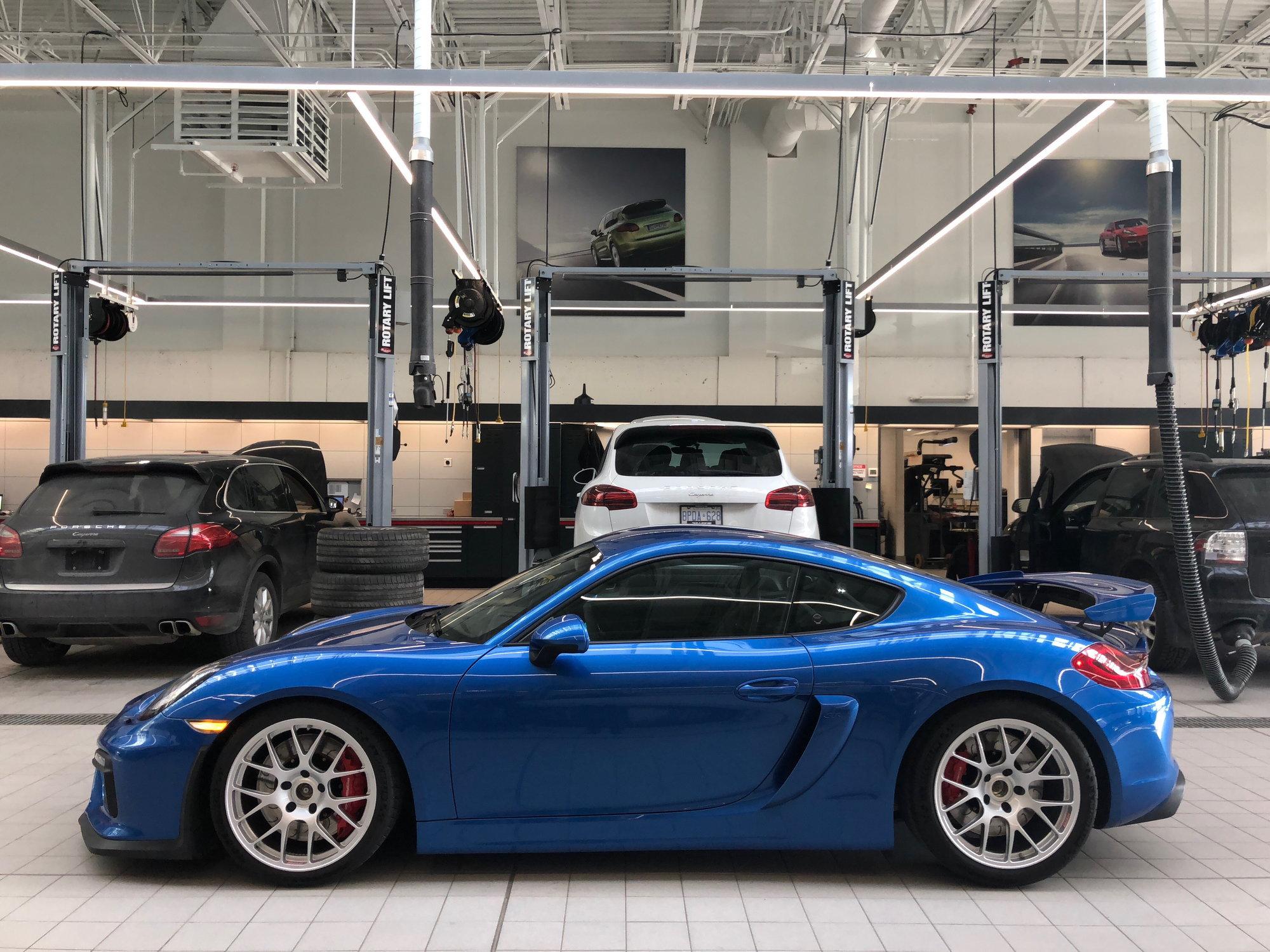 Fs Bbs Monoblock Re Wheels For Porsche Gt4 Boxster