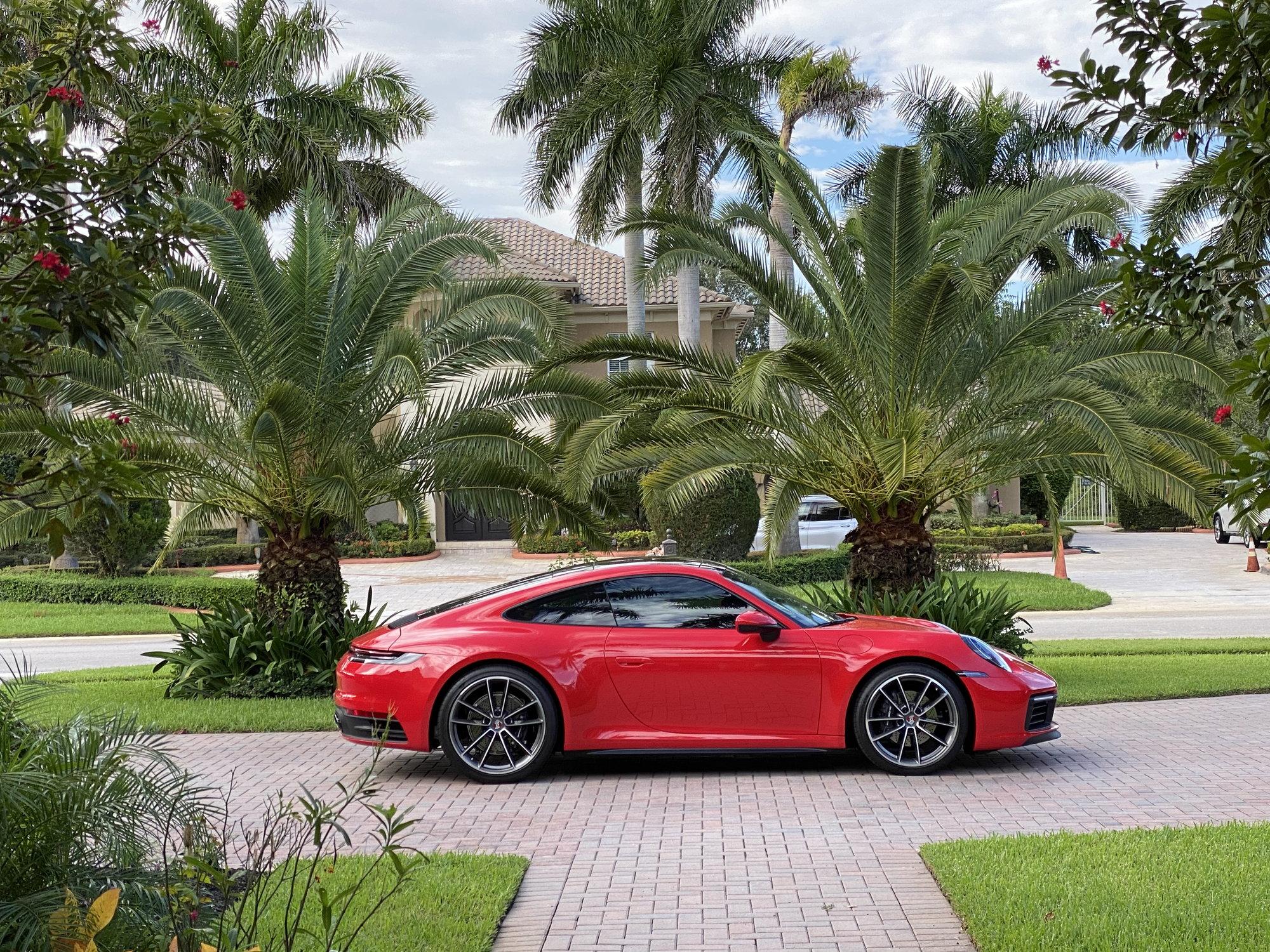 My Pre Covid 992 Carrera Guards Red Rennlist Porsche Discussion Forums