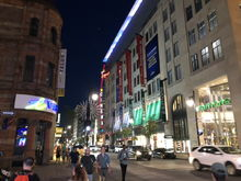 Ste-Catherine St. is a good place to unwind after a long day.