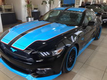 2016 Mustang GT Richard Petty King Premier Edition #12 of 43 made. 727 hp. Coming soon the convertible model only 13 were made and 2 available to the public. This one is $124,995 call Tom at 843-683-7787