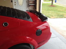 New Louvers with black spoiler