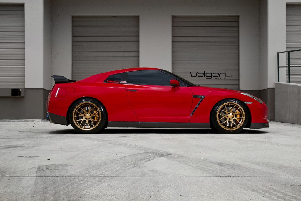 Nissan Gt R On Velgen Wheels Vmb7 6speedonline Porsche