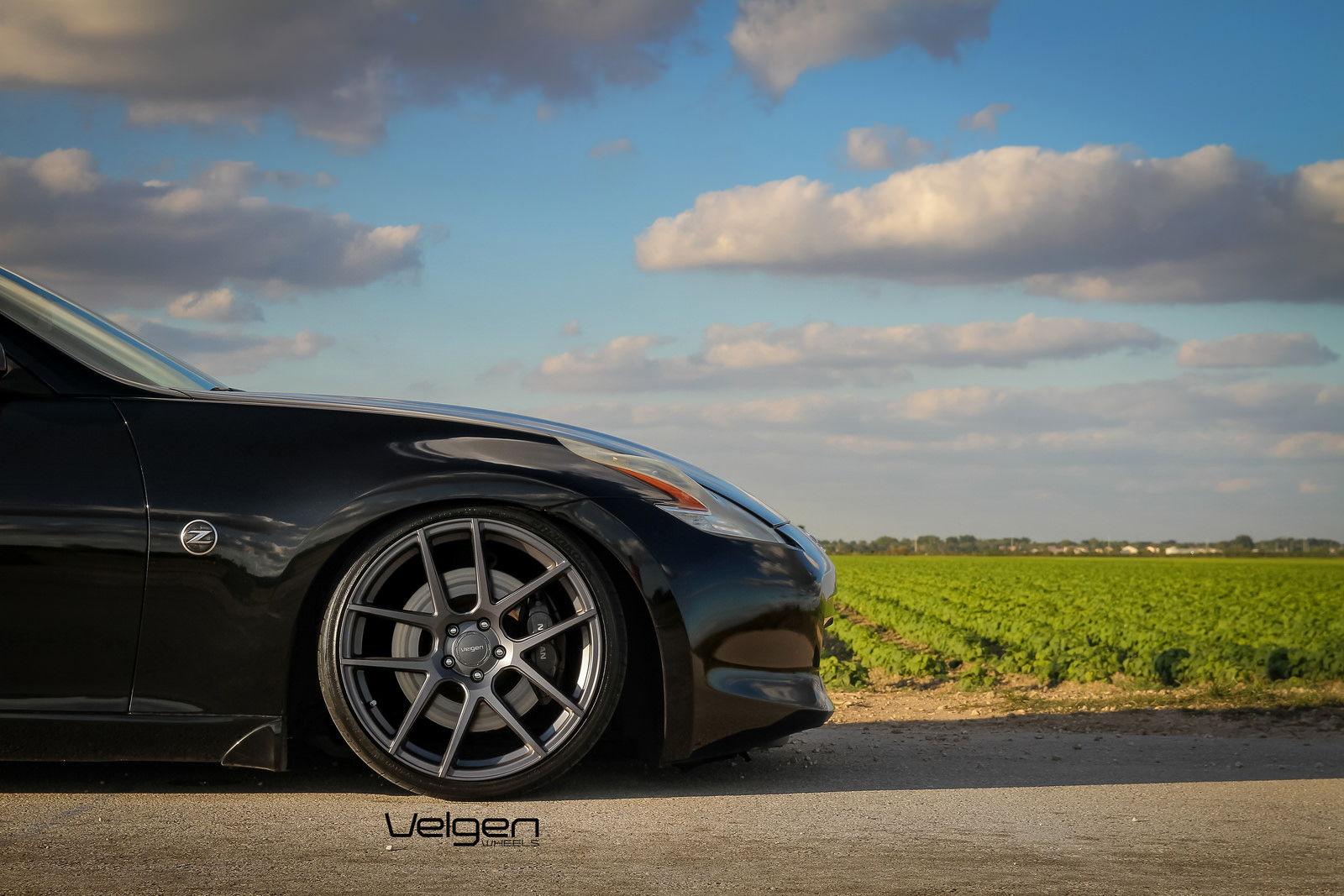 Nissan 370z On Velgen Wheels Vmb5 Teamspeed Com