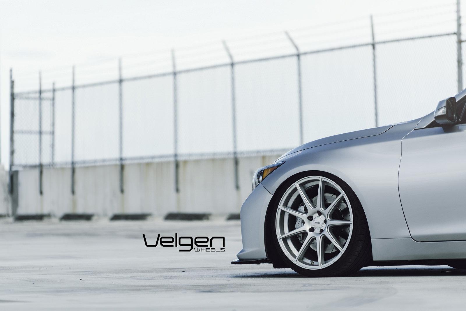 Infiniti Q50s On Velgen Wheels Vmb9 6speedonline Porsche