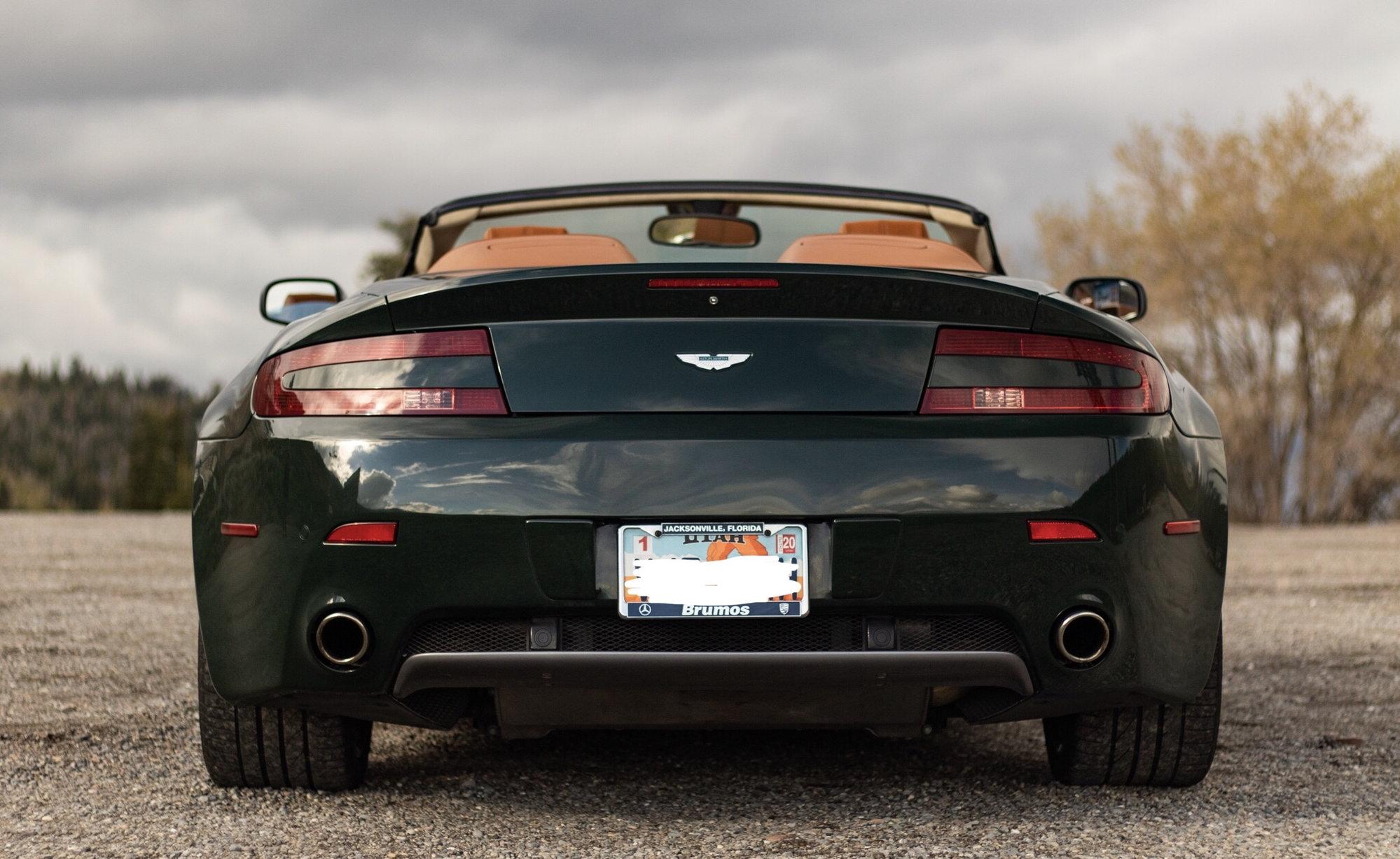 2008 Aston Martin Vantage- Custom Range British Racing