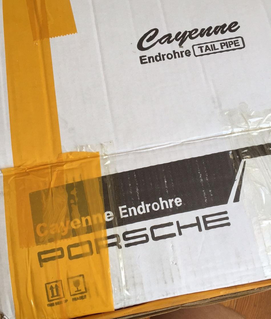 Porsche 996 C4s Exhaust Tips: Quad Exhaust Tips