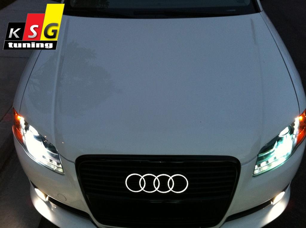 A4 B8 - Lighted Logo ( Emblem ) - AudiWorld Forums