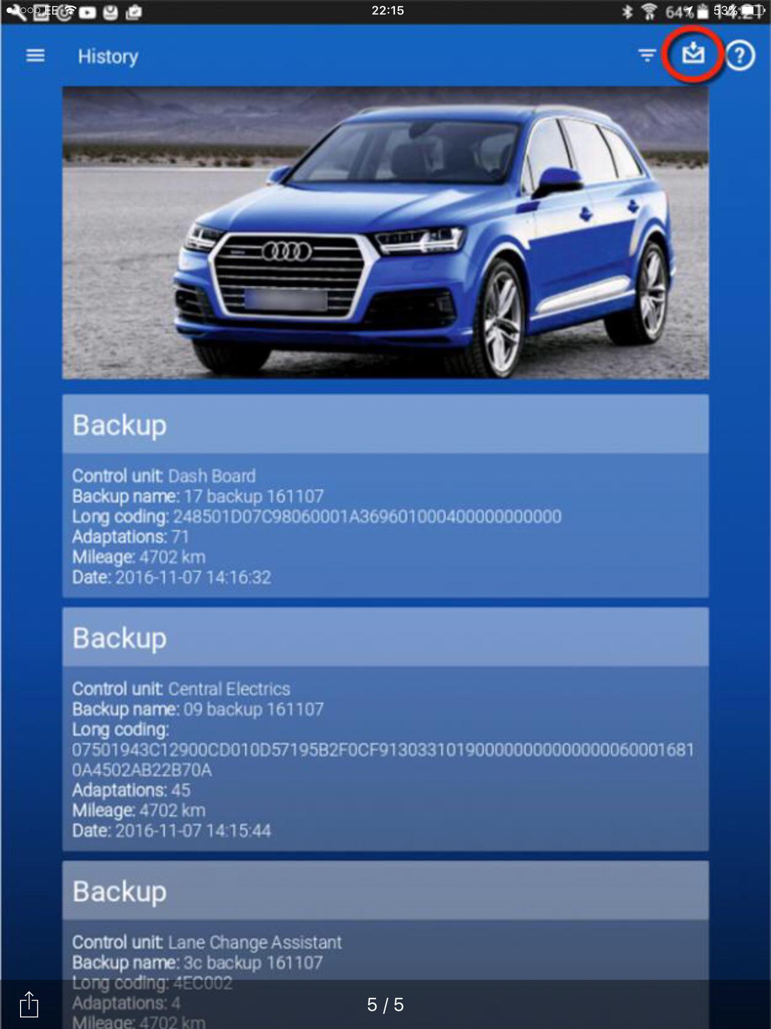 Obdeleven Audi Q7