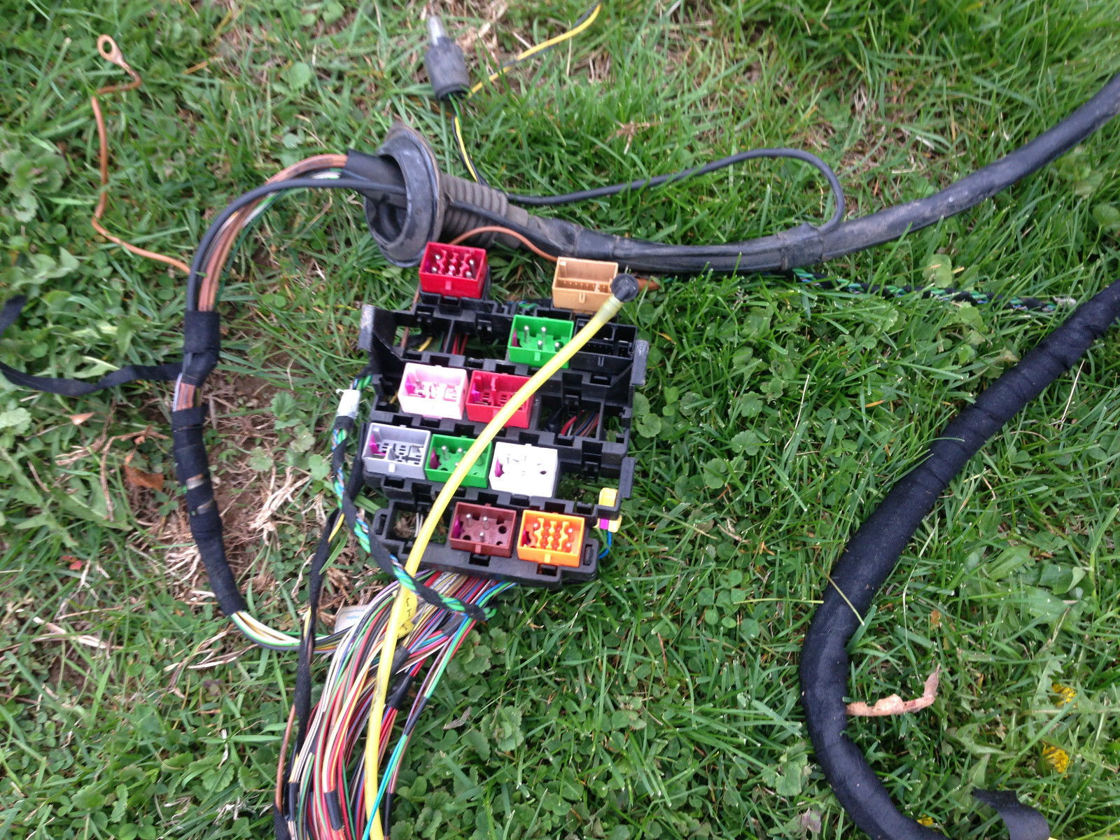 Audi A4 1999 A4 Wiring Harness Part Out