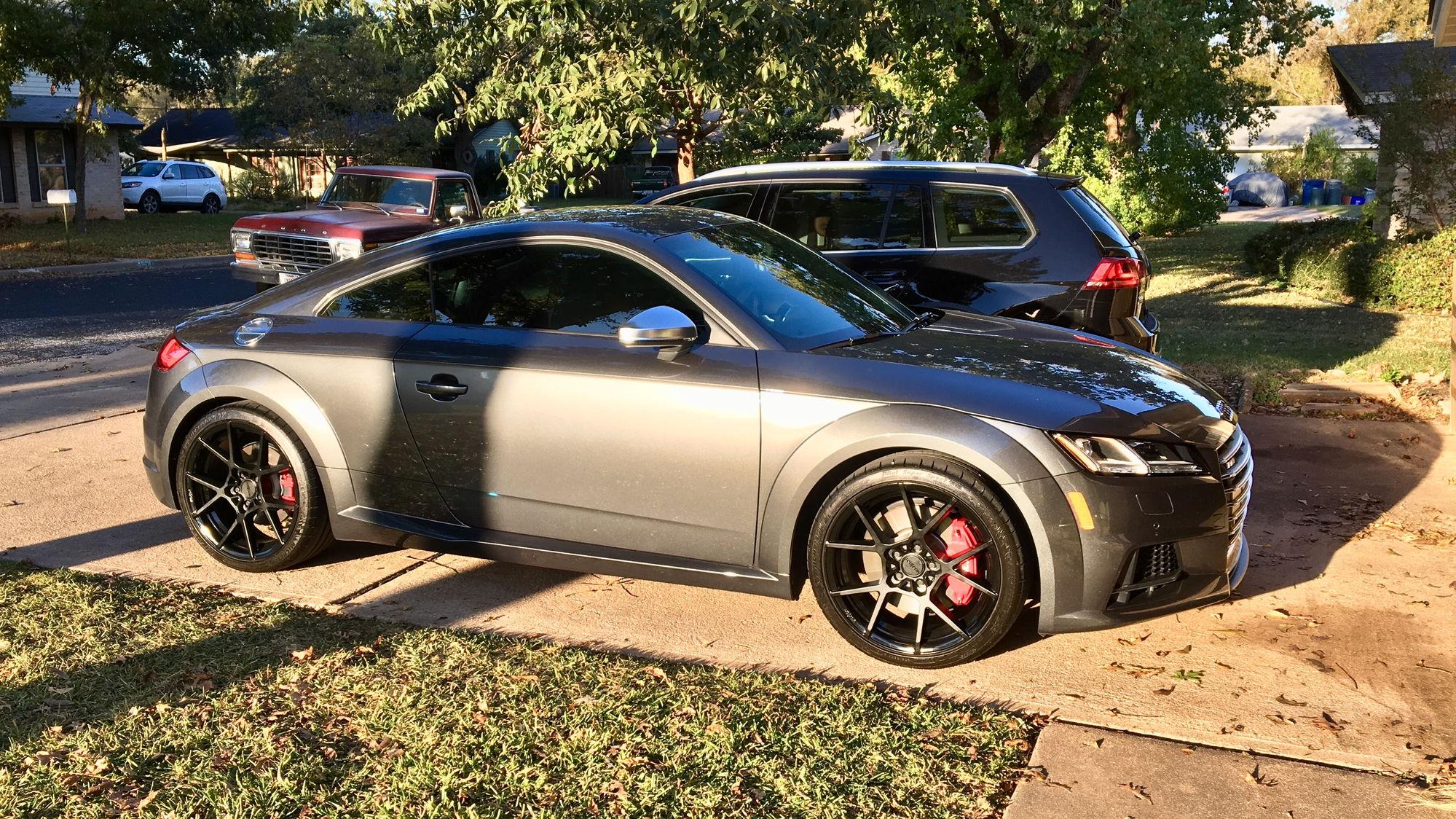best wheel size for mk3 tt audiworld forums rh audiworld com Audi TT Manual Transmission Audi TT Owner's Manual