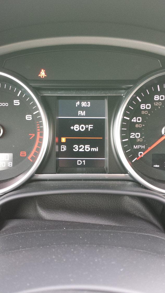 gear indicator display flashing - AudiWorld Forums