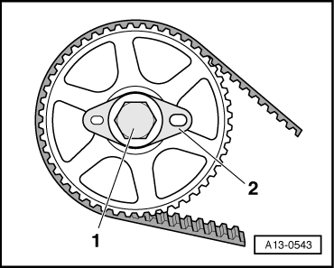 d i y timing belt replacement audiworld forums Audi S14 clear up the understanding of how audi designed the cam gear end and how you can re set timing of cams with the keyed position washer item labeled 2