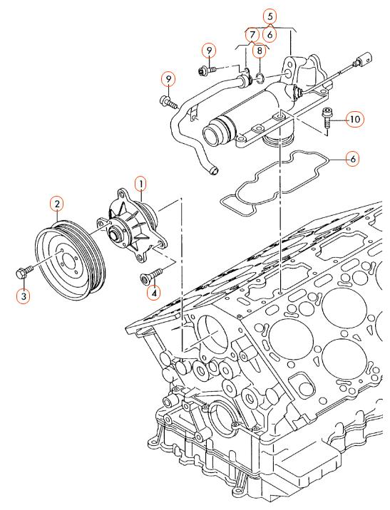bentley w 12 diagram