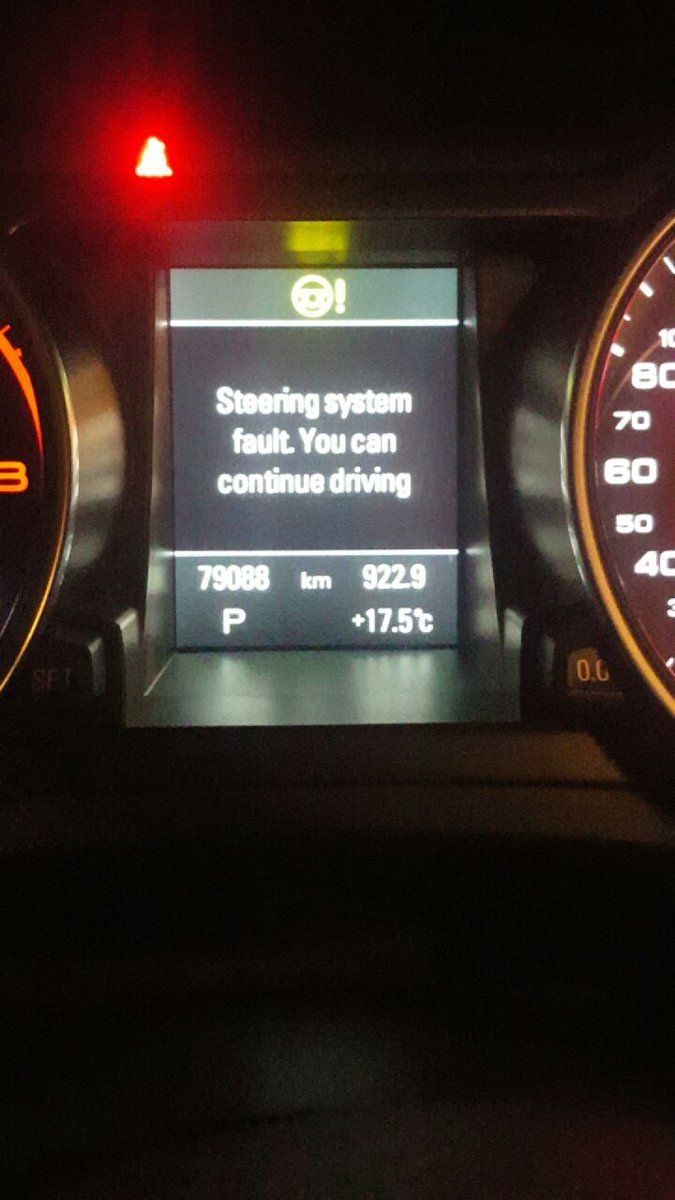 Yet another electric steering system failure  - AudiWorld Forums