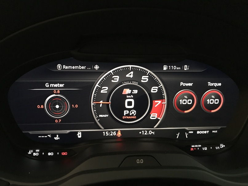 Force Gauge Screen On The S3 2017 Virtual Cockpit Page 2
