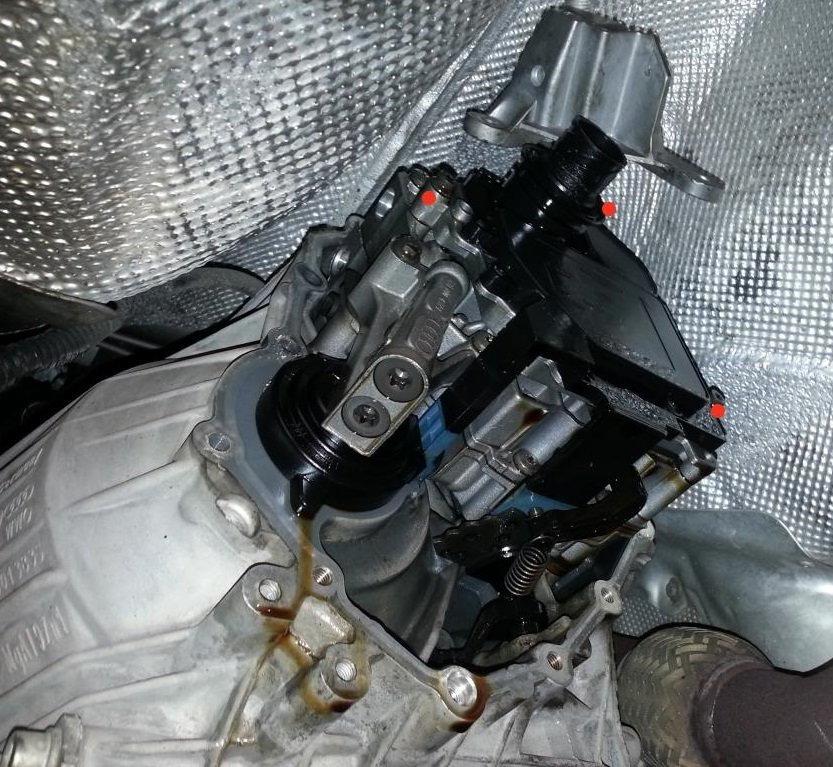 Transmission control unit location - AudiWorld Forums