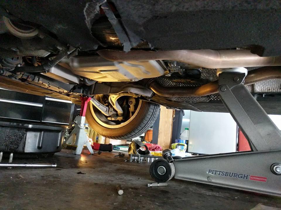 Trans Service DIY - 8 Speed - AudiWorld Forums