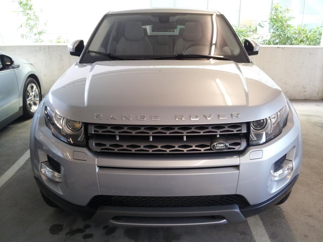 2014 Land Rover Range Rover Evoque front