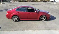 Subaru Legacy 2.5i Sport side