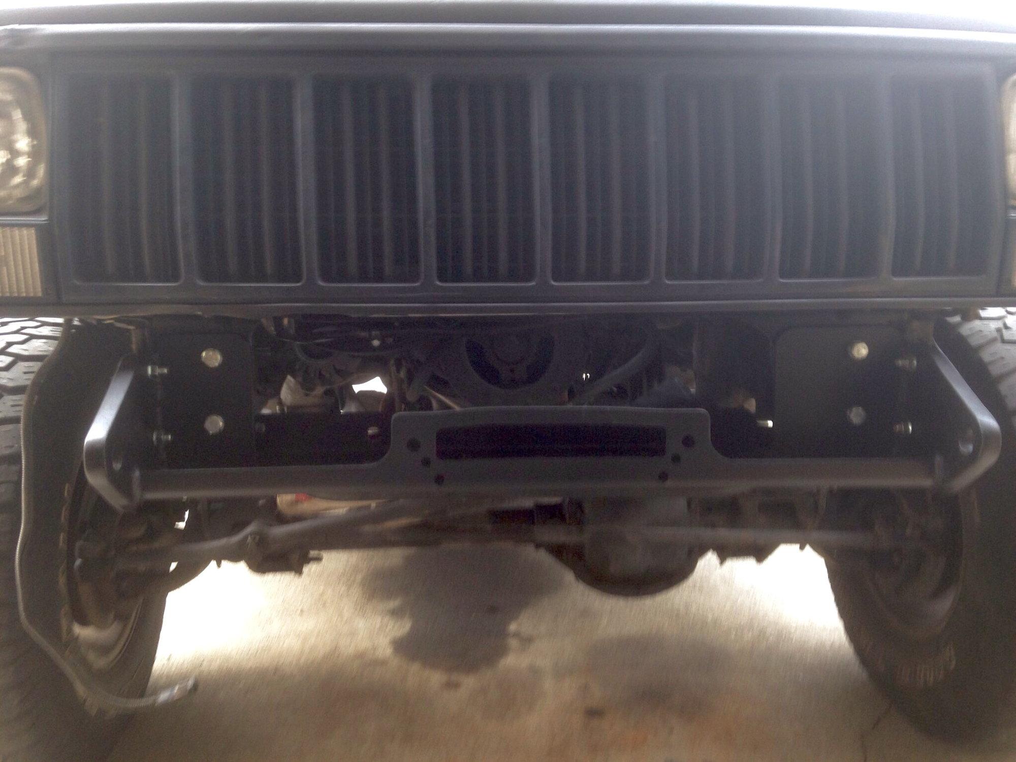 Hidden winch mount  - Jeep Cherokee Forum