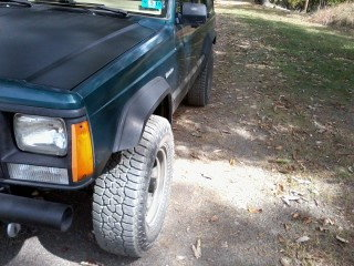 Tires sticking out - Jeep Cherokee Forum