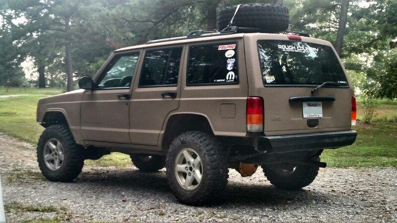 Cerakote My Jeep in Magpul Flat Dark Earth - Jeep Cherokee Forum