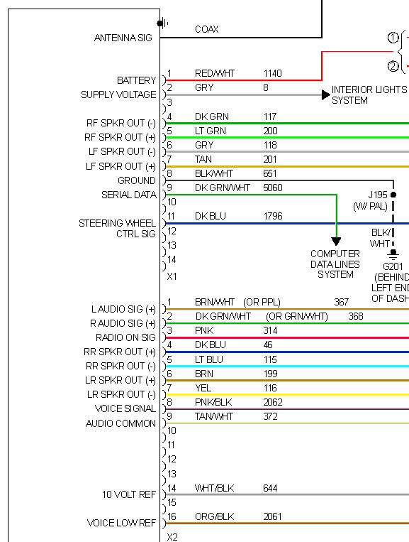 Wiring for Pioneer radio into 09 HHR - Chevy HHR Network
