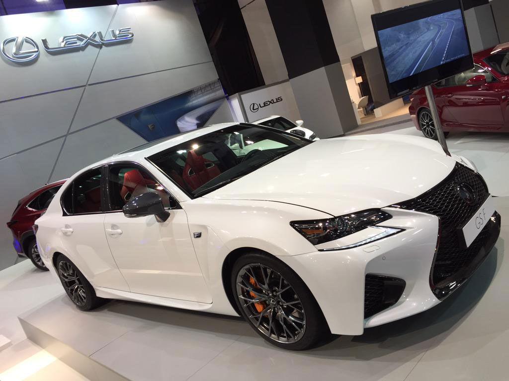 Ultra White Lexus Gsf In Barcelona Auto Show Clublexus