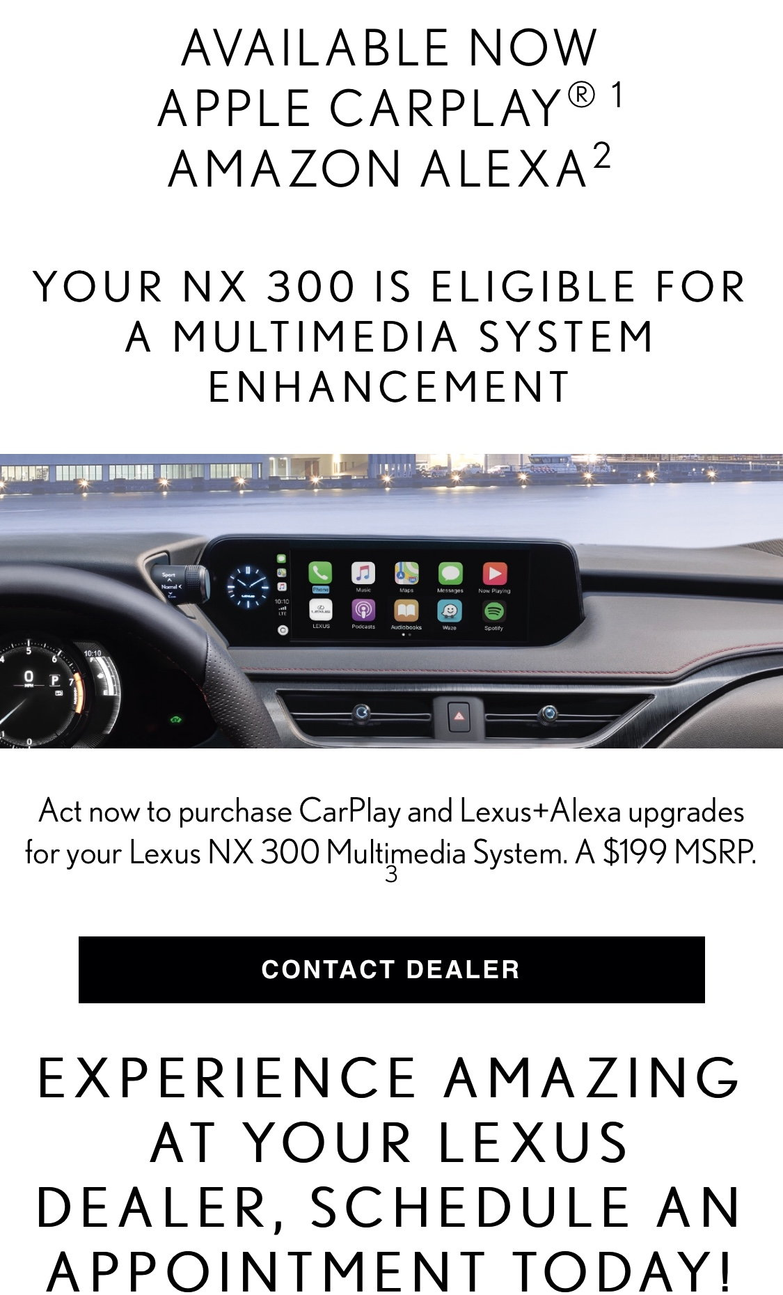 Lexus Enform 2 0 to update with Apple CarPlay - Page 23