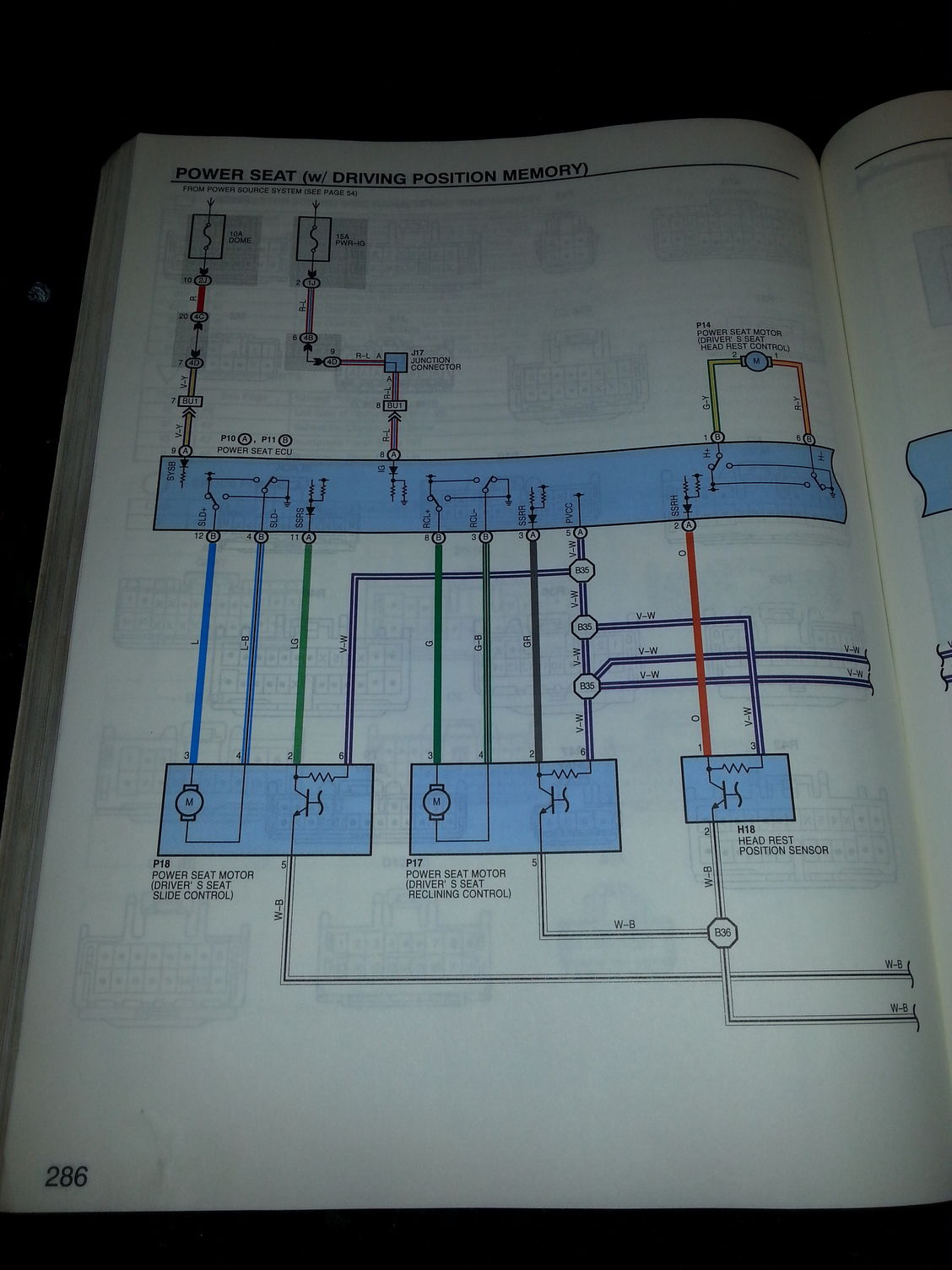 Anyone Have An Electrical Wiring Diagram Manual   Seat