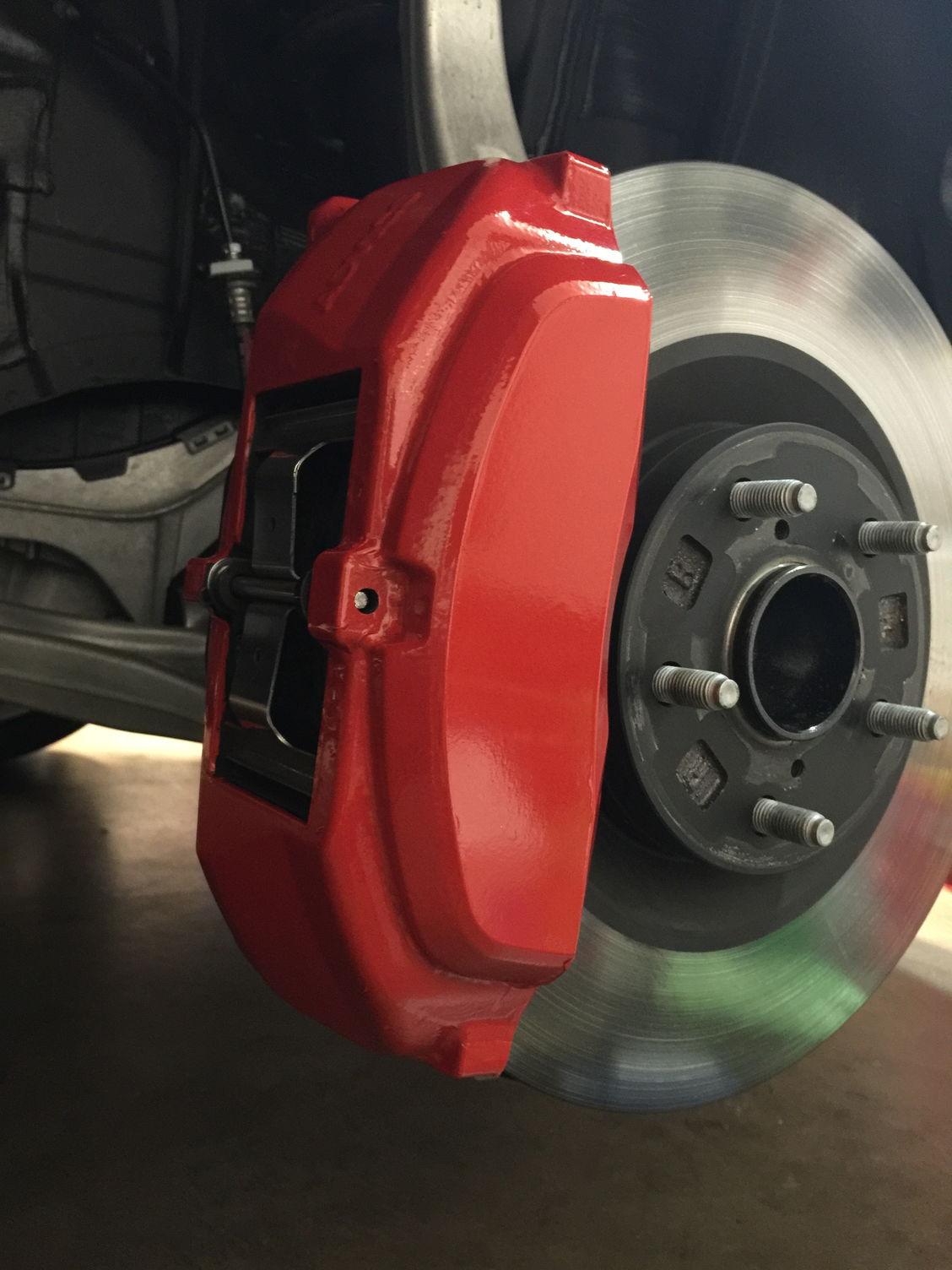 3m Reflective Red Brake Caliper Vinyl Wrap Clublexus