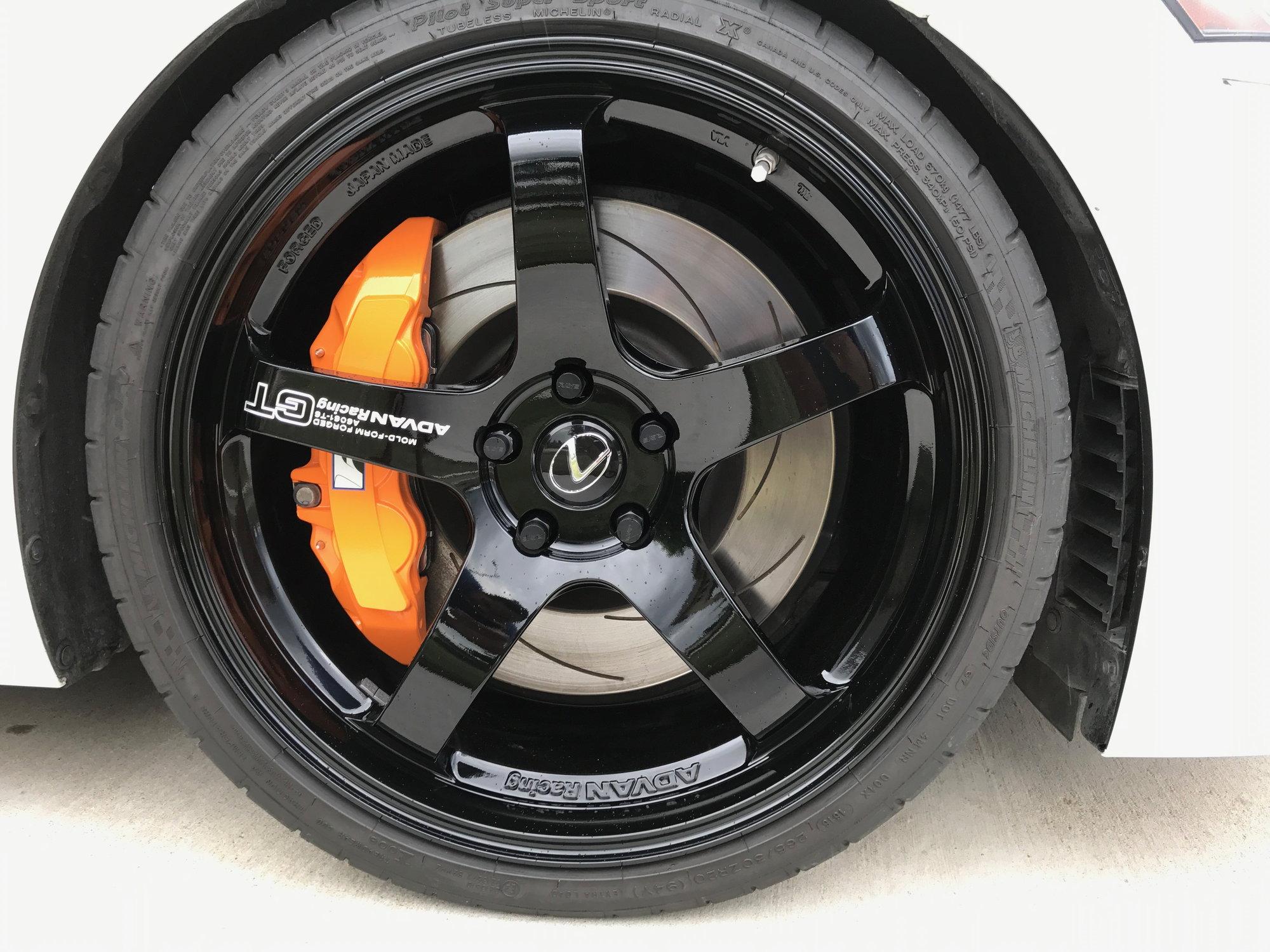 Tx Advan Racing Gt Premium Version Rims Center Caps