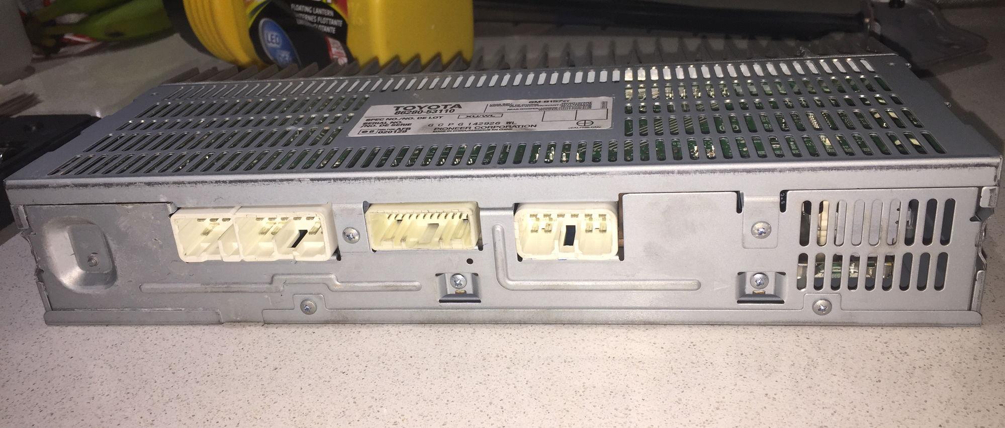 U0026 39 06 Is250 Amplifier Circuit Board Diagram