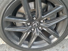 2014 Lexus IS 350 FSPORT. Dont know why 3 of my rims look like this and the other 1 doesnt. This rim is mostly clean of brake dust.