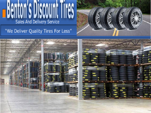 For your tire needs please visit our website at www.BentonDiscountTires.
