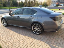 2013 Lexus GS350, Tinted, Blacked out, fined tuned and Giavanna Kilis chrome rims