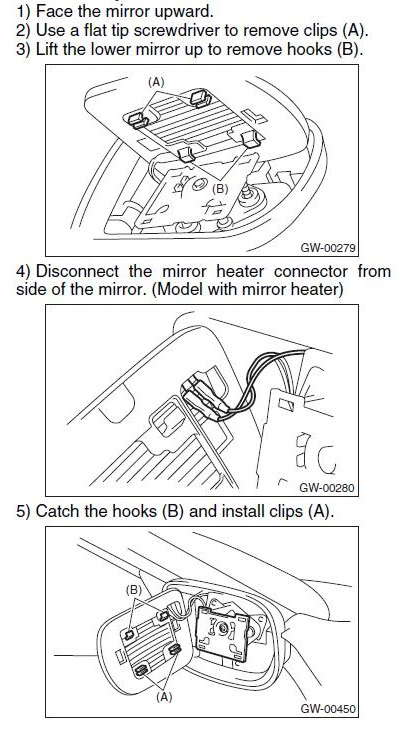 80 removalandreinstallationofglassfrommirror_1017e0b068dbfcd95535840e7f0f6e5f4aa0de4b jdm power folding mirrors a wiring odyssey clublexus lexus