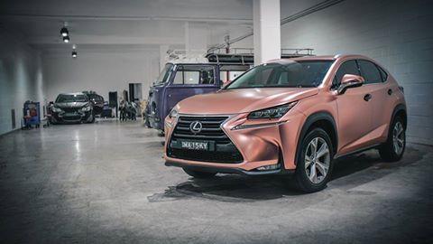 Ny Car Show >> Satin Chrome Rose Gold NX - ClubLexus - Lexus Forum Discussion