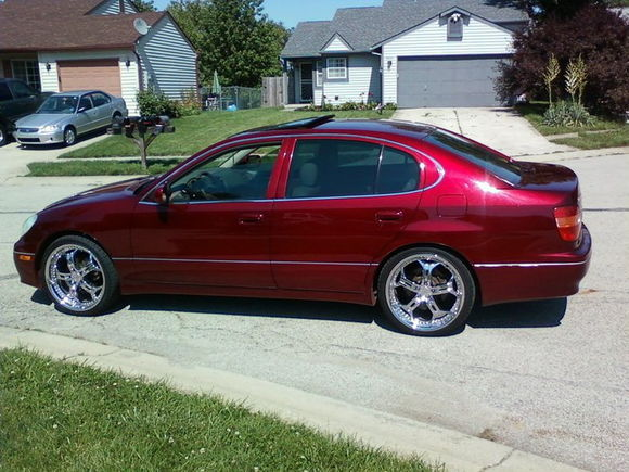 my 1999 lexus gs 300 with that candy paint